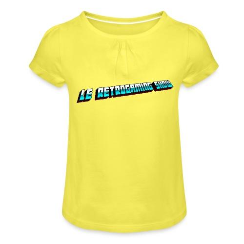 RGS - T-shirt à fronces au col Fille