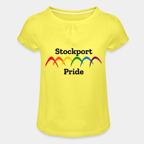 Stockport Pride - Girl's T-Shirt with Ruffles