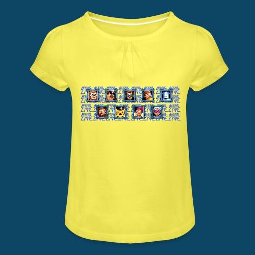 Benzaie LIVE - MUG - T-shirt à fronces au col Fille