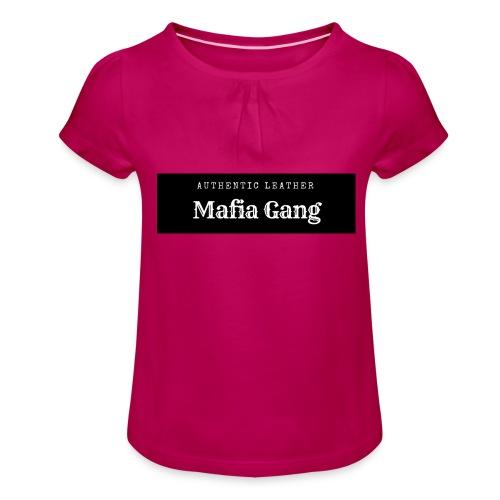 Mafia Gang - Nouvelle marque de vêtements - T-shirt à fronces au col Fille