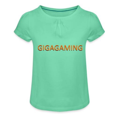 GIGAGAMING - Pige T-shirt med flæser