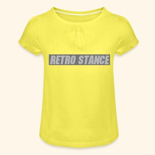 Retro Stance - Girl's T-Shirt with Ruffles