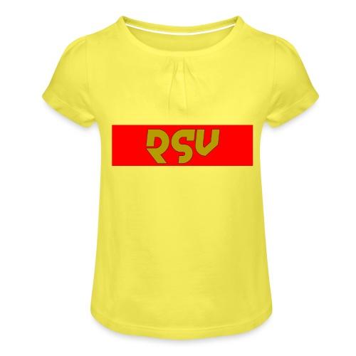 rsv - T-shirt à fronces au col Fille
