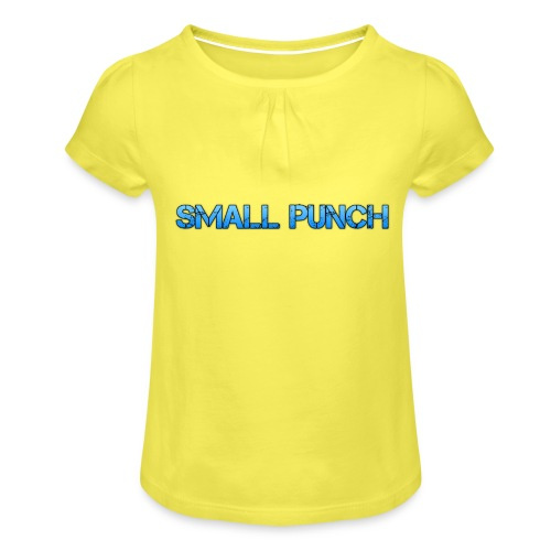 small punch merch - Girl's T-Shirt with Ruffles
