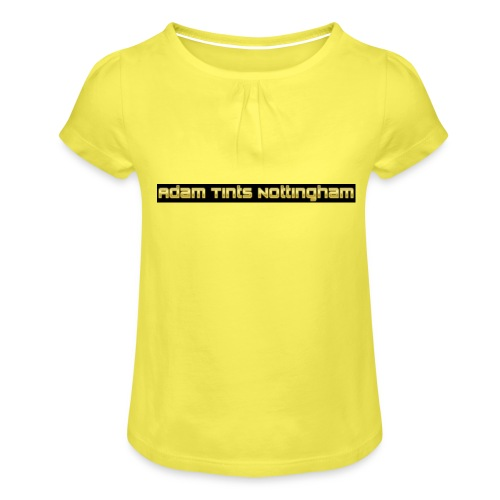 Adam Tints Nottingham - Girl's T-Shirt with Ruffles