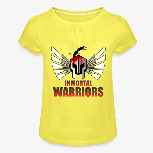The Inmortal Warriors Team - Girl's T-Shirt with Ruffles