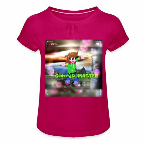 Il mio personaggio - Maglietta da ragazza con arricciatura