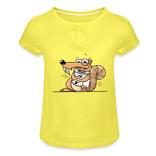 Scrat Toiletpaper Ice Age Corona Age Corona Virus - Mädchen-T-Shirt mit Raffungen