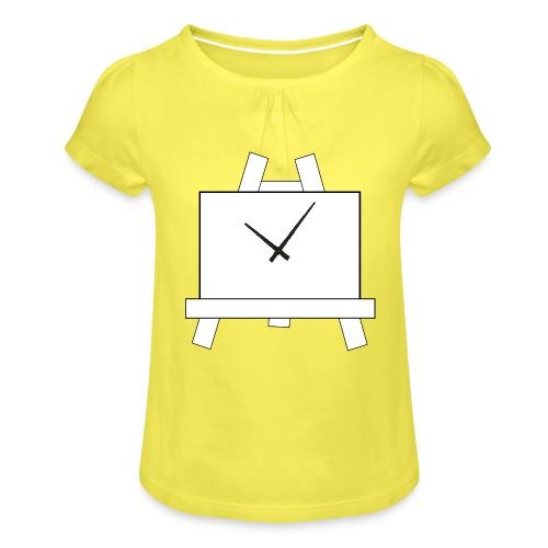Time 4 Art - Meisjes-T-shirt met plooien