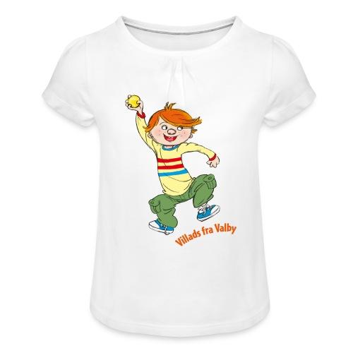 Villads fra Valby - Pige T-shirt med flæser