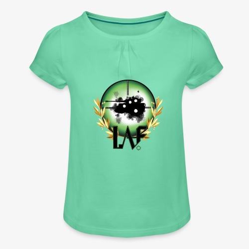Load Aim Fire Merchandise - Meisjes-T-shirt met plooien