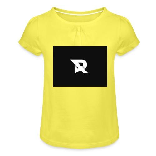 xRiiyukSHOP - Girl's T-Shirt with Ruffles