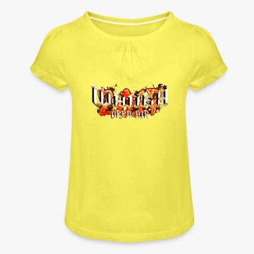 Wanka Open Air 2017 Muerte al Falso Metal - Camiseta para niña con drapeado