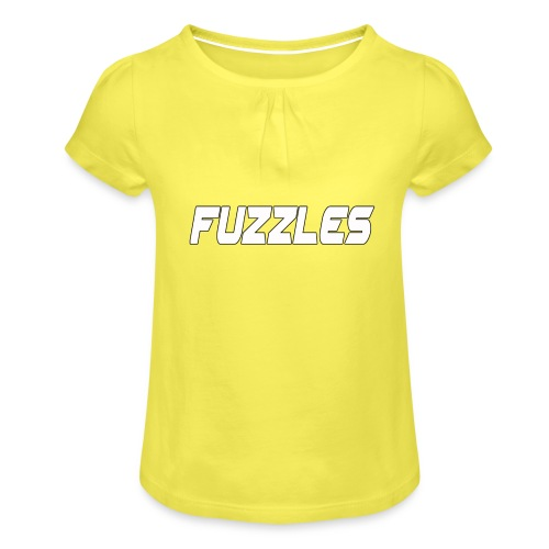 fuzzles - Girl's T-Shirt with Ruffles