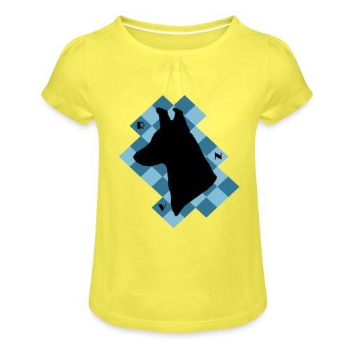 SquareDog - Tyttöjen t-paita, jossa rypytyksiä