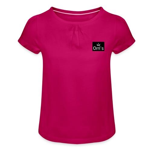 IMG 20190217 220031 939 - T-shirt à fronces au col Fille