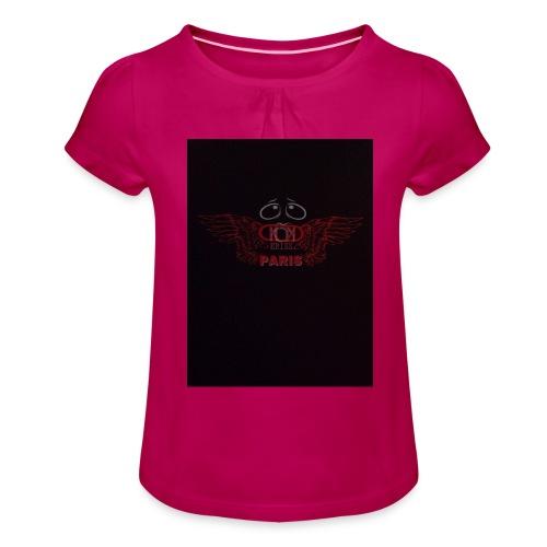 KDM - T-shirt à fronces au col Fille