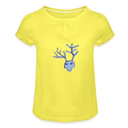 Jelen - Koszulka dziewczęca z marszczeniami