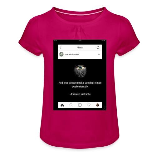 81F94047 B66E 4D6C 81E0 34B662128780 - Girl's T-Shirt with Ruffles