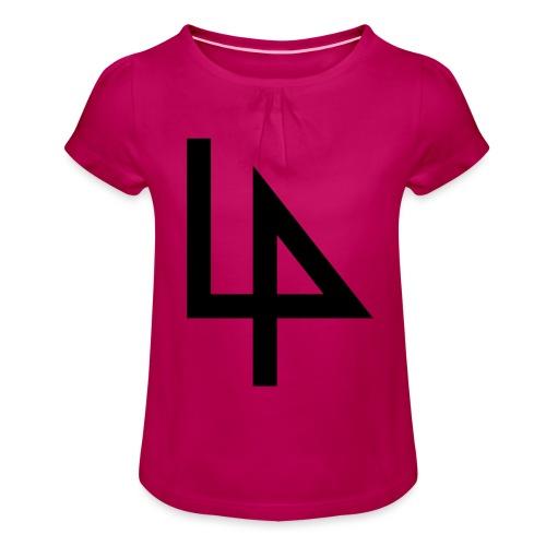 4 - Girl's T-Shirt with Ruffles