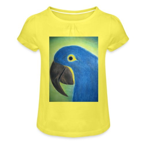 Hyasinttiara - Tyttöjen t-paita, jossa rypytyksiä