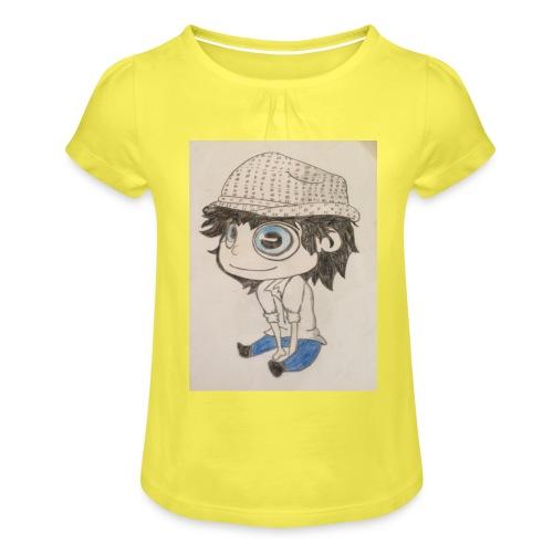 la vida es bella - Camiseta para niña con drapeado