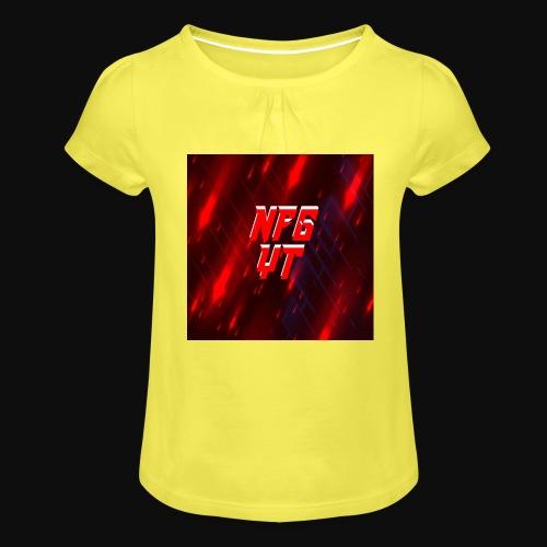 NFGYT - Girl's T-Shirt with Ruffles