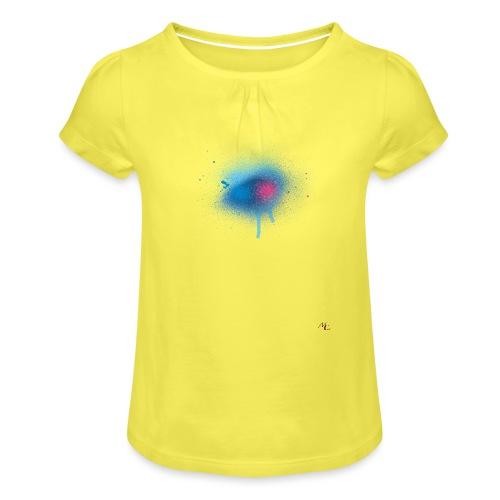 Splash - Maglietta da ragazza con arricciatura