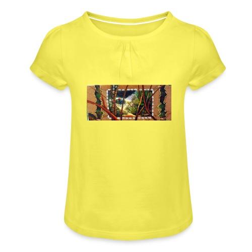 Deep Mint Insight Men's T- Shirt - Girl's T-Shirt with Ruffles
