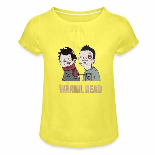 The Wankil Dead - T-shirt à fronces au col Fille