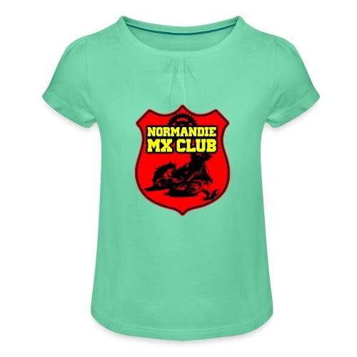 Casquette Normandie MX Club - T-shirt à fronces au col Fille