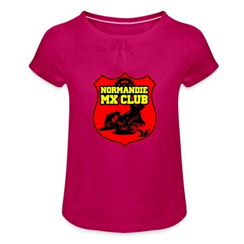 Casquette Normandie MX Club - T-shirt à fronces au col Fille