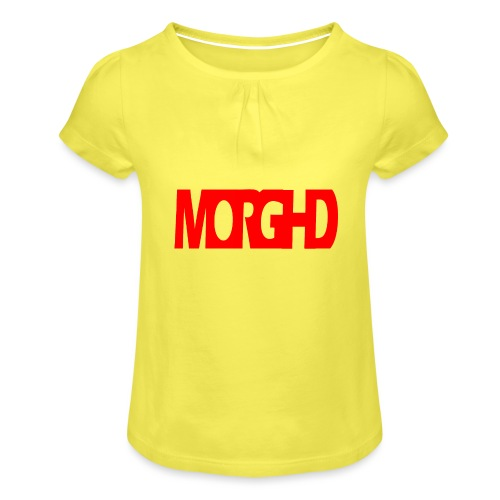 MorgHD - Girl's T-Shirt with Ruffles