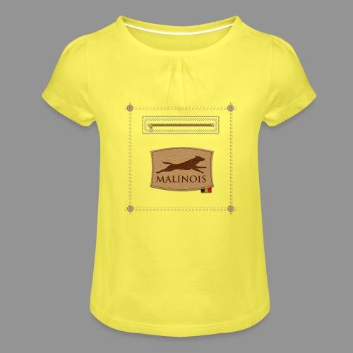 Belgian shepherd Malinois - Girl's T-Shirt with Ruffles