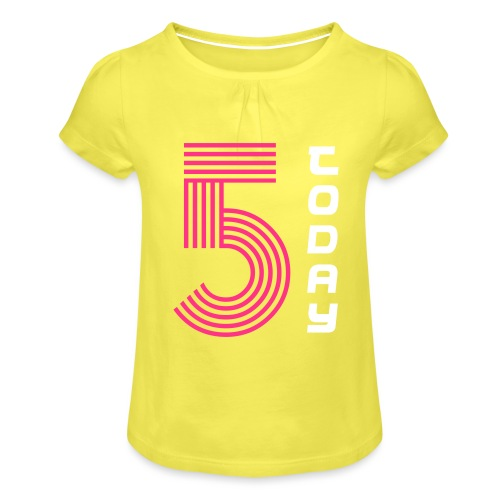 FIVE Today - Girl's T-Shirt with Ruffles