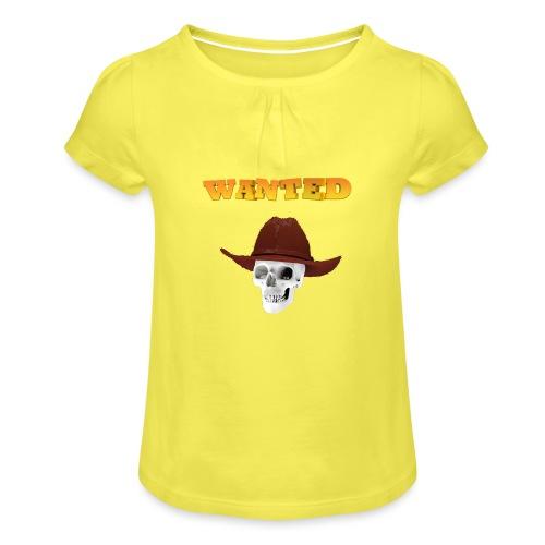 WANTED AR - Camiseta para niña con drapeado
