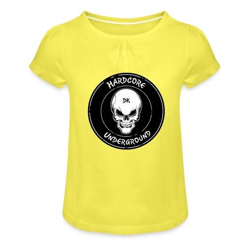 UndergrounDK Clothing est. 2017 - Pige T-shirt med flæser