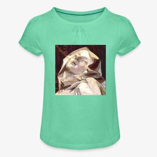 #OrgulloBarroco Teresa - Camiseta para niña con drapeado
