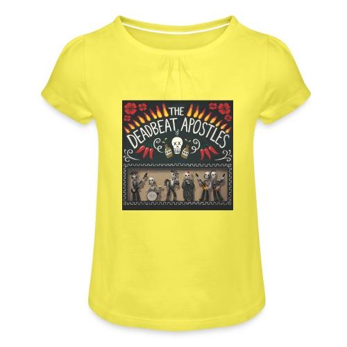 The Deadbeat Apostles - Girl's T-Shirt with Ruffles