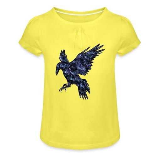 Ravn - Jente-T-skjorte med frynser