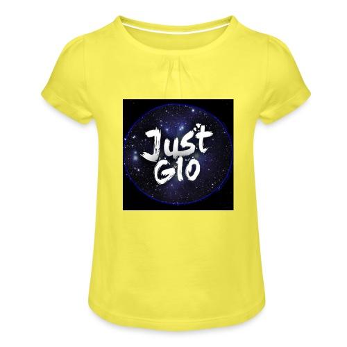 Just gio - Maglietta da ragazza con arricciatura