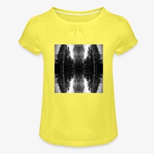 Riihi - Tyttöjen t-paita, jossa rypytyksiä