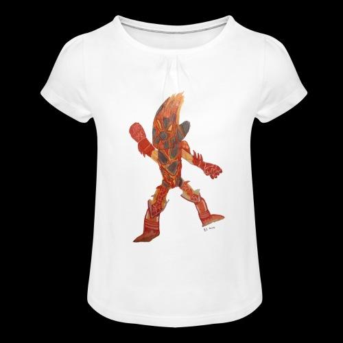 Fire Blast Show Star BY TAiTO - Tyttöjen t-paita, jossa rypytyksiä