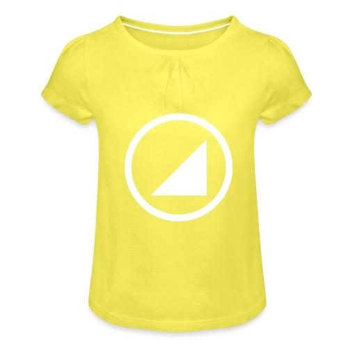 marca bulgebull - Camiseta para niña con drapeado
