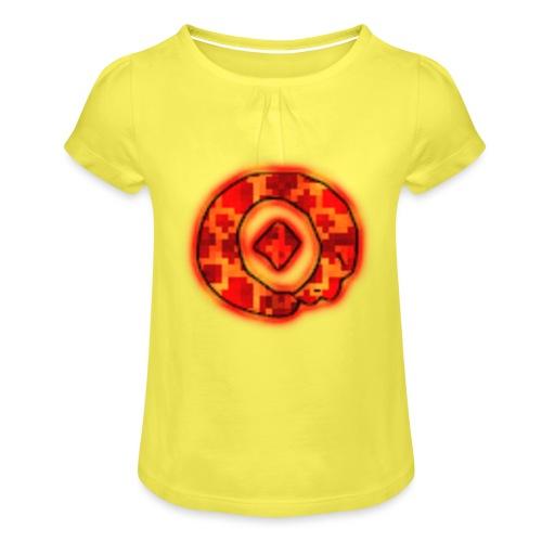 Omega O - Girl's T-Shirt with Ruffles