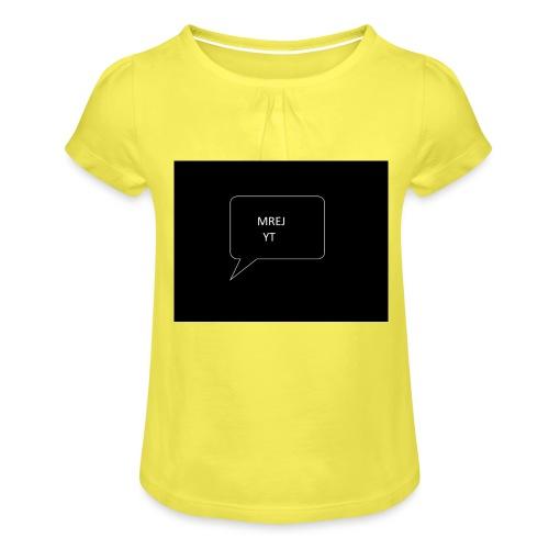 MREJYT T-sjorta - Jente-T-skjorte med frynser
