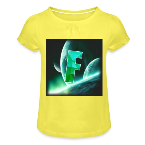 Fahmzii's masterpiece - Girl's T-Shirt with Ruffles