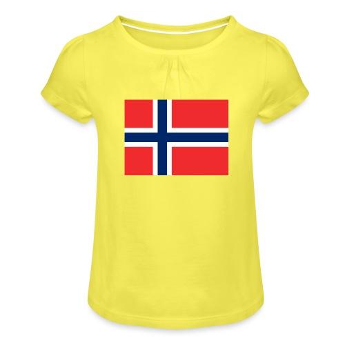 DixieMertch - Jente-T-skjorte med frynser