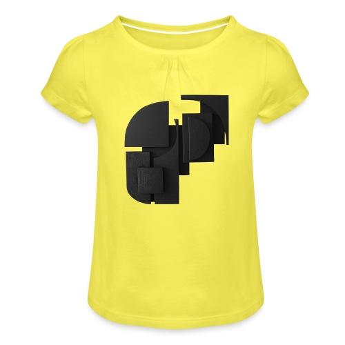 Tilde Grynnerup - Pige T-shirt med flæser