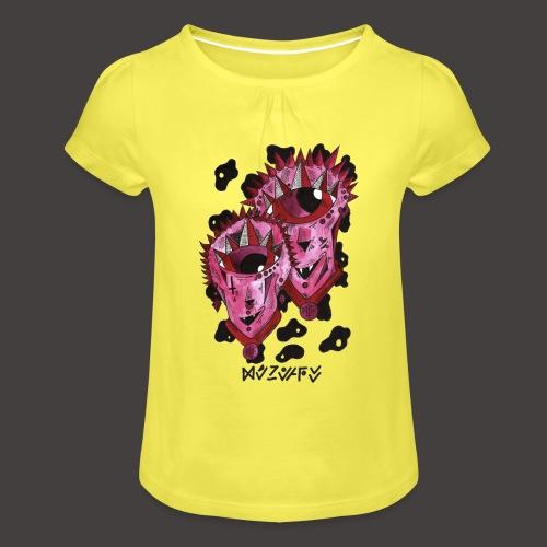 Gemeaux original - T-shirt à fronces au col Fille